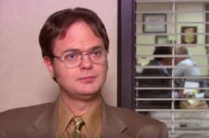 commercial infame ? En tout cas, Dwight Shrute aime son métier.