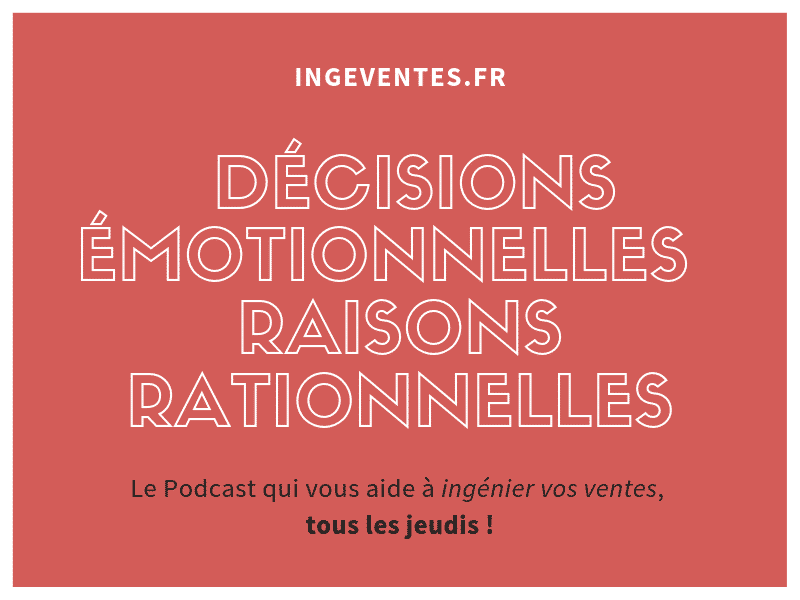 Decisions emotionnelles raisons rationnelles - Couverture Podcast