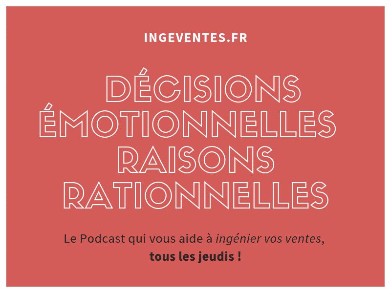 Decisions emotionnelles raisons rationnelles - Couverture Podcast
