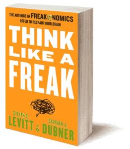 Penser comme un Freak, tout un programme dont on reparlera !
