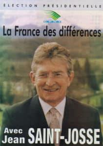 Jean Saint-Josse, un mec qui a porté son bon pitch jusqu'à un score honorable à la présidentielle de 2002 !